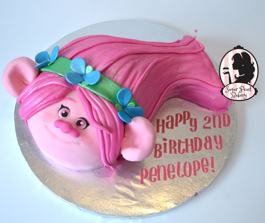 Trolls Birthday Cake - Poppy on Cake Central