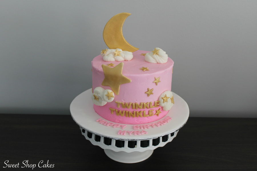 Twinkle Twinkle Little Star Birthday Cakecentral