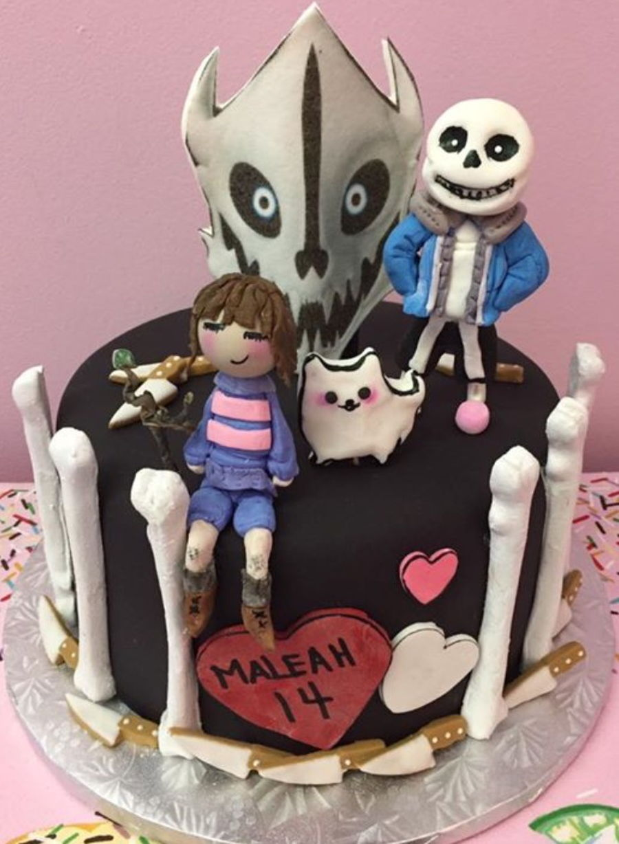 Undertale on Cake Central