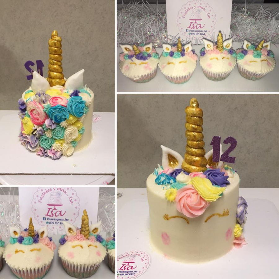 Unicorn Cake And Cupcakes Cakecentral Com