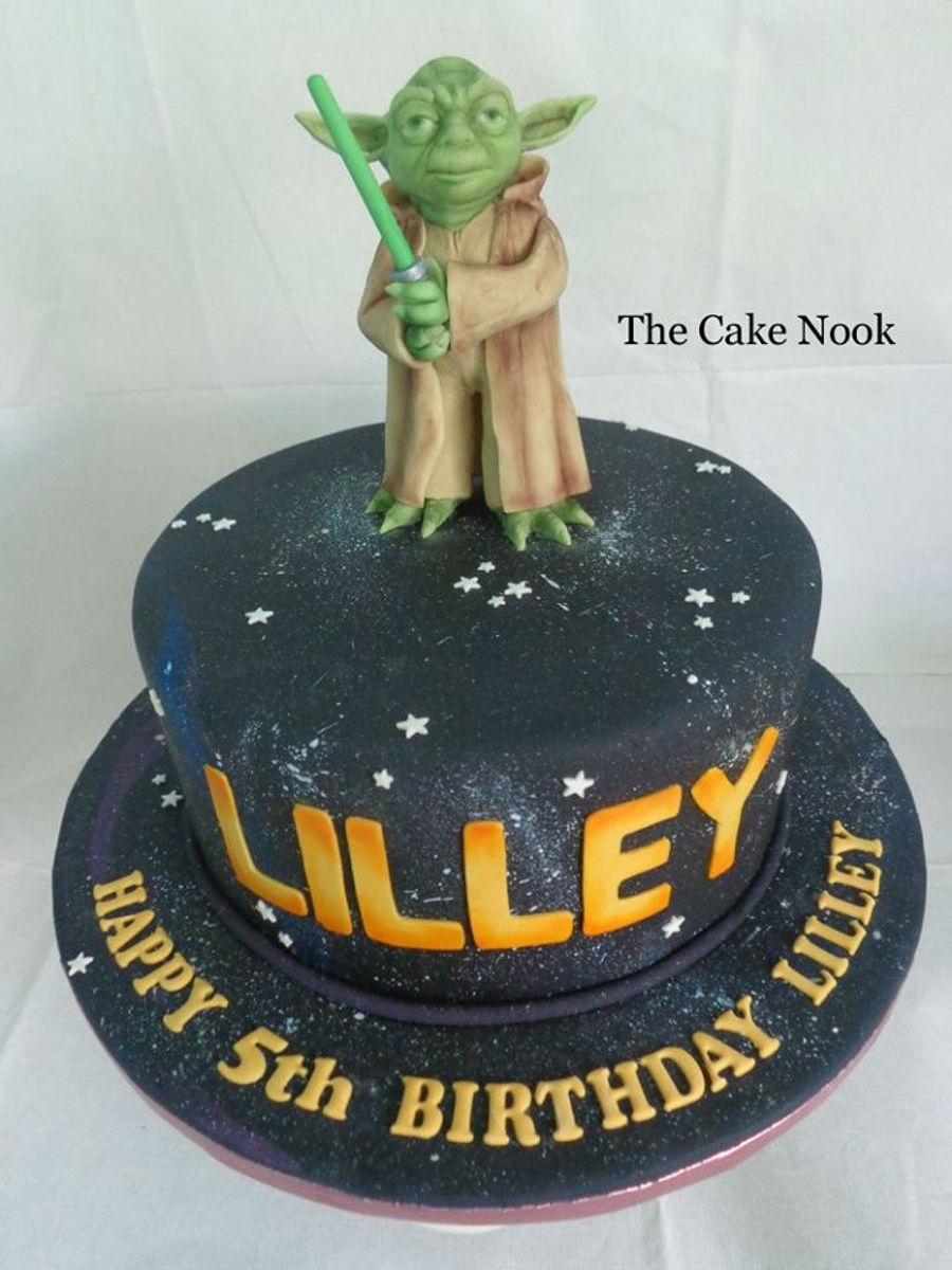 Yoda Cake Cakecentral Com