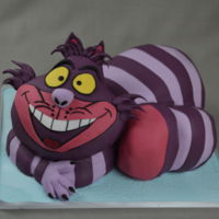 Cheshire Cat Cake The Disney Version of the Cheshire Cat for a Girls Birthday, hope you enjoy it.
