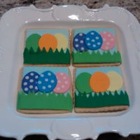 Easter Cookies NFSC with fondant