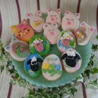 Easter Treats Decided to have some fun today and bake some Easter sugar cookies. These are for after Easter dinner for my grandchildren and the other big...