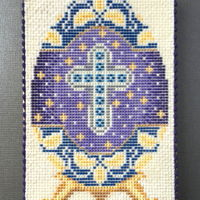Faberge Egg | Sweet Prodigy This is royal icing needlepoint on a sugar cookie.