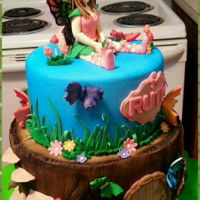 Fairy Land fairyland cake