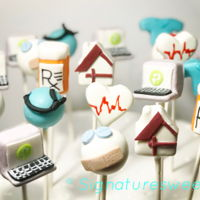 Health Care Cake Pops Health Care Cake Pops