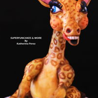 "Lola The Crazy Giraffe Hi friends! I hope you are doing well!Let me introduce Lola, my crazy giraffe! happy to assist me and my students as "" Inspirational..."