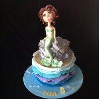 Mermaid Birthday Cake Chocolate cake