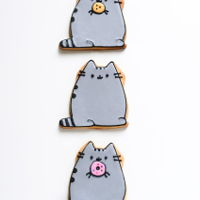 Pusheen Cookies pusheen cookies - buttery sugar cookies decorated with royal icing