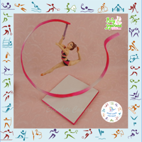 Rhythmic Gymnastics - Sport Cakes For Peace Collaboration I've always been fascinated seeing rhythmic gymnastics presentations, especially the ribbons with the beautiful figures they make...