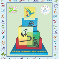 Sports For Peace - Sport Cakes For Peace Collaboration Sport Cakes for Peace is a cake collaboration created by Elisabete Caseiro from @BetySugarland – Cake Design by Elisabete Caseiro...