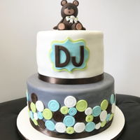 Teddy Bear Themed Cake Teddy Bear Themed Cake