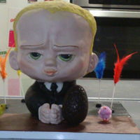 The Boss Baby Cake Wanted to make a Boss Baby Cake for my son.