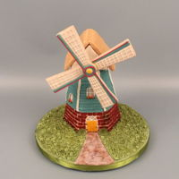 Windmill This is another piece I entered into the National Capital Area Cake Show this past weekend. This windmill is made up of 13 cookies and I...