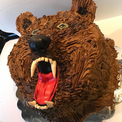 Grizzly Bear Cake Grizzly Bear Cake