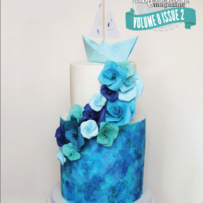 Origami Boat Cake For Cake Central Magazine