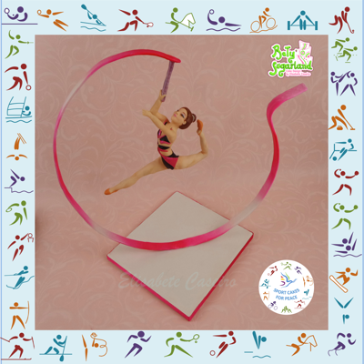 Rhythmic Gymnastics - Sport Cakes For Peace Collaboration