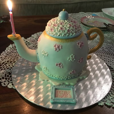 Teapot Cake birthday cake for my best friend :)