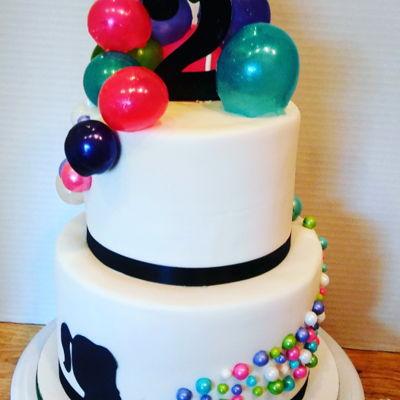 342 Bubbles Cake Photos