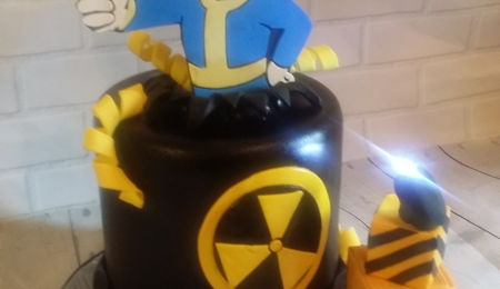 Fallout Shelter Cake