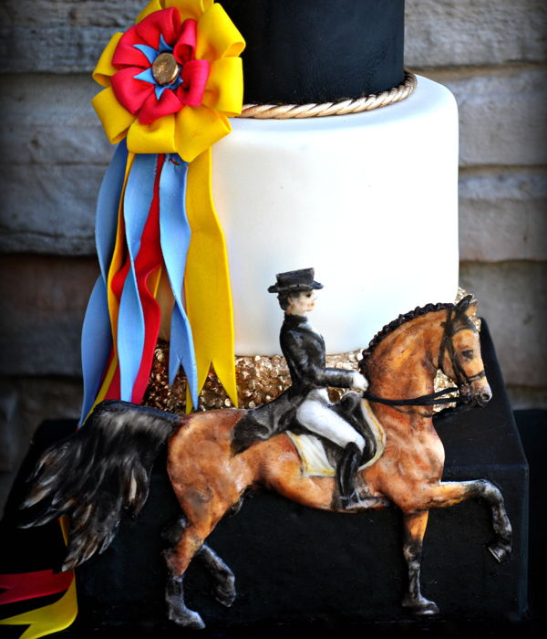 """dressage"" - Sport Cakes For Peace Collaboration"