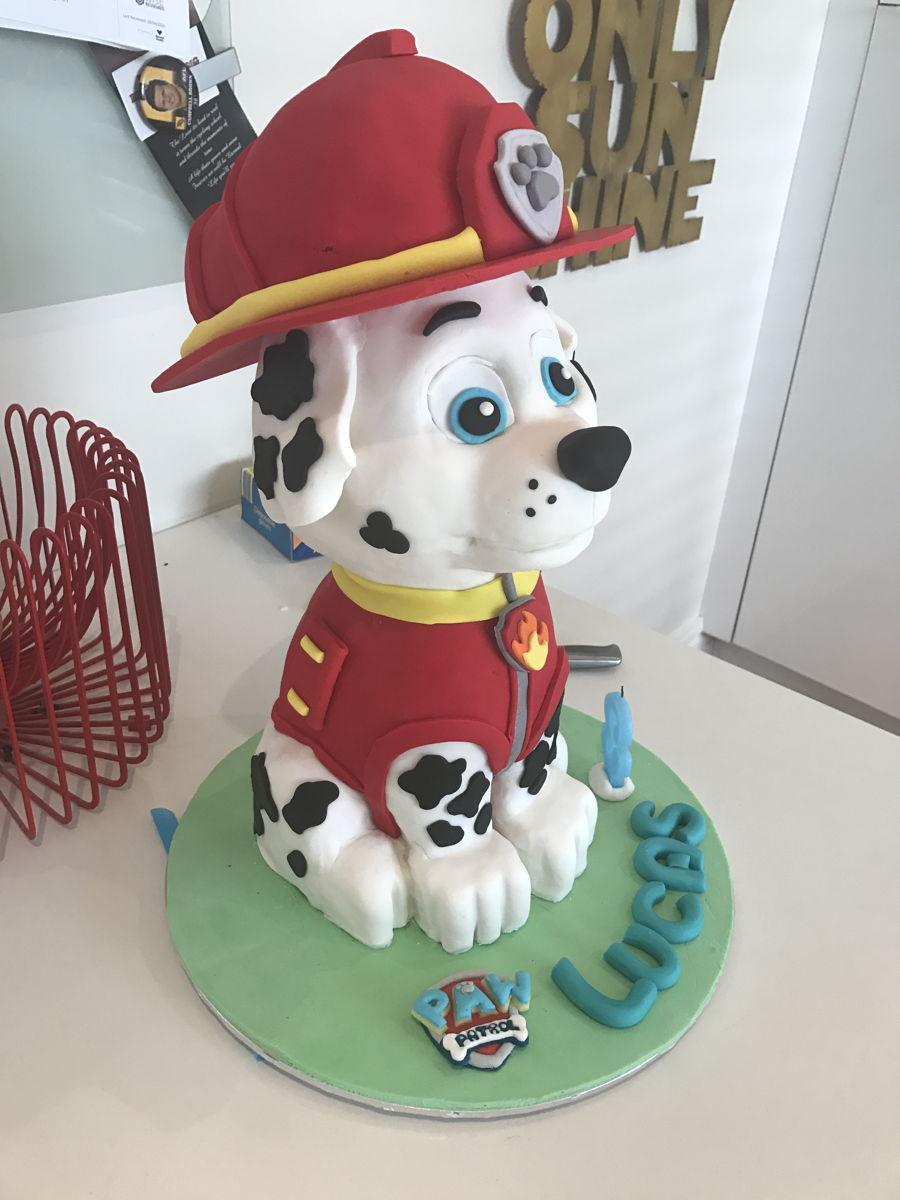 How To Make A D Dog Cake