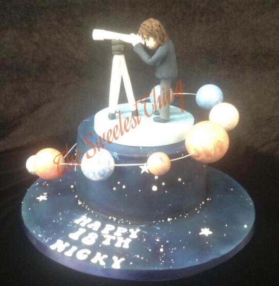 Astronomy Cake Cakecentral Com