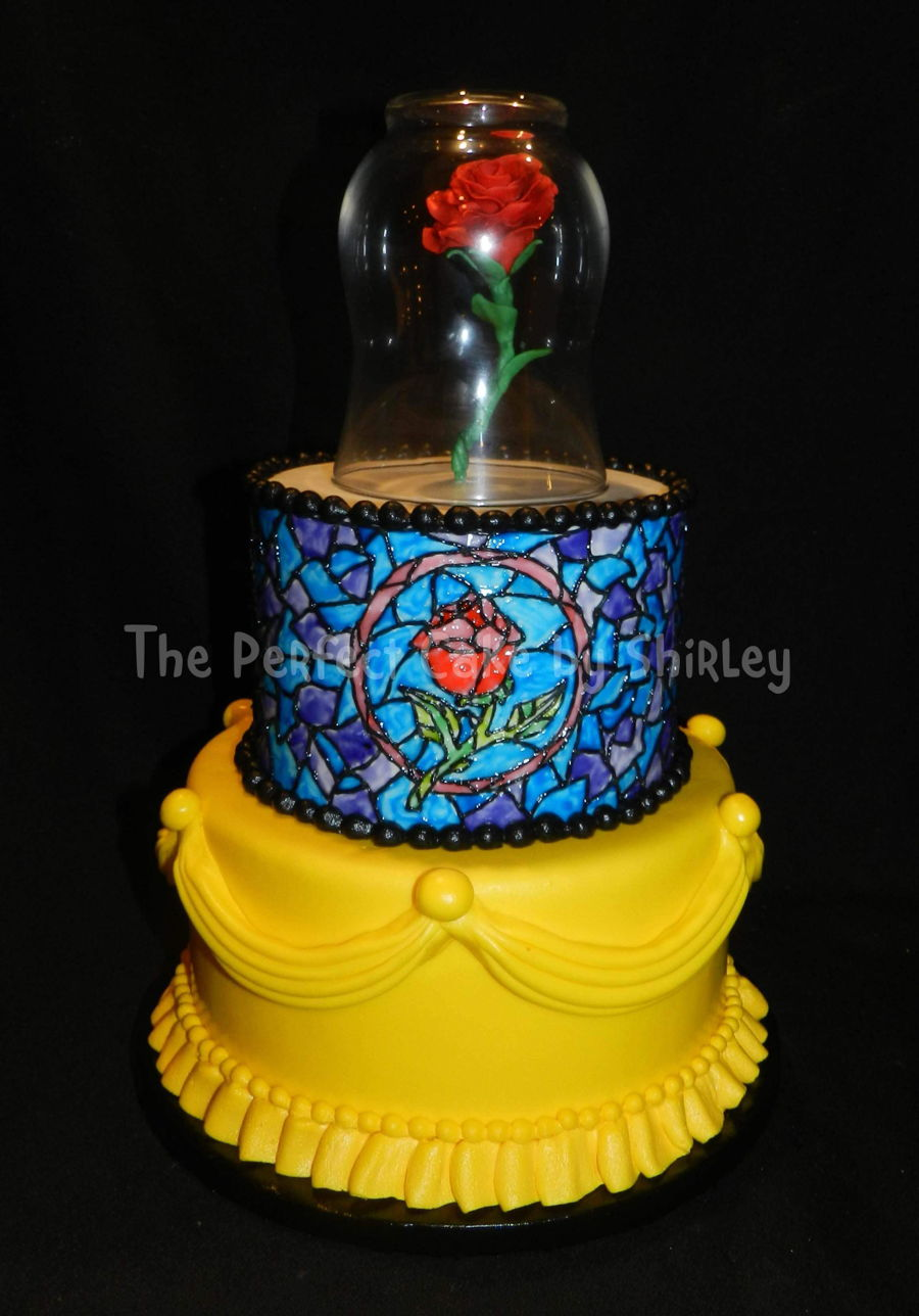 wedding cake beauty and the beast and the beast cakecentral 22000