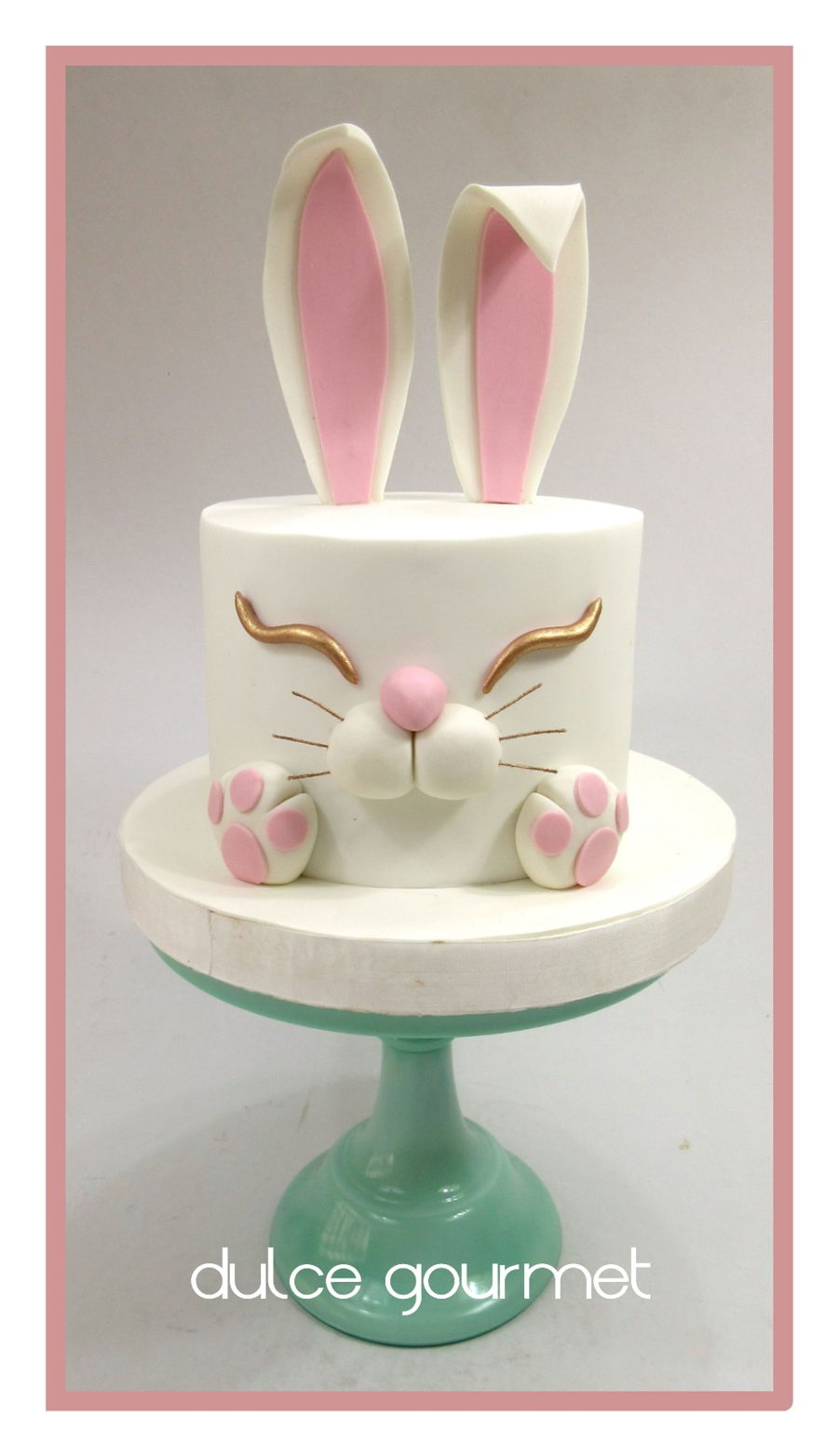 Bunny Easter Cake on Cake Central