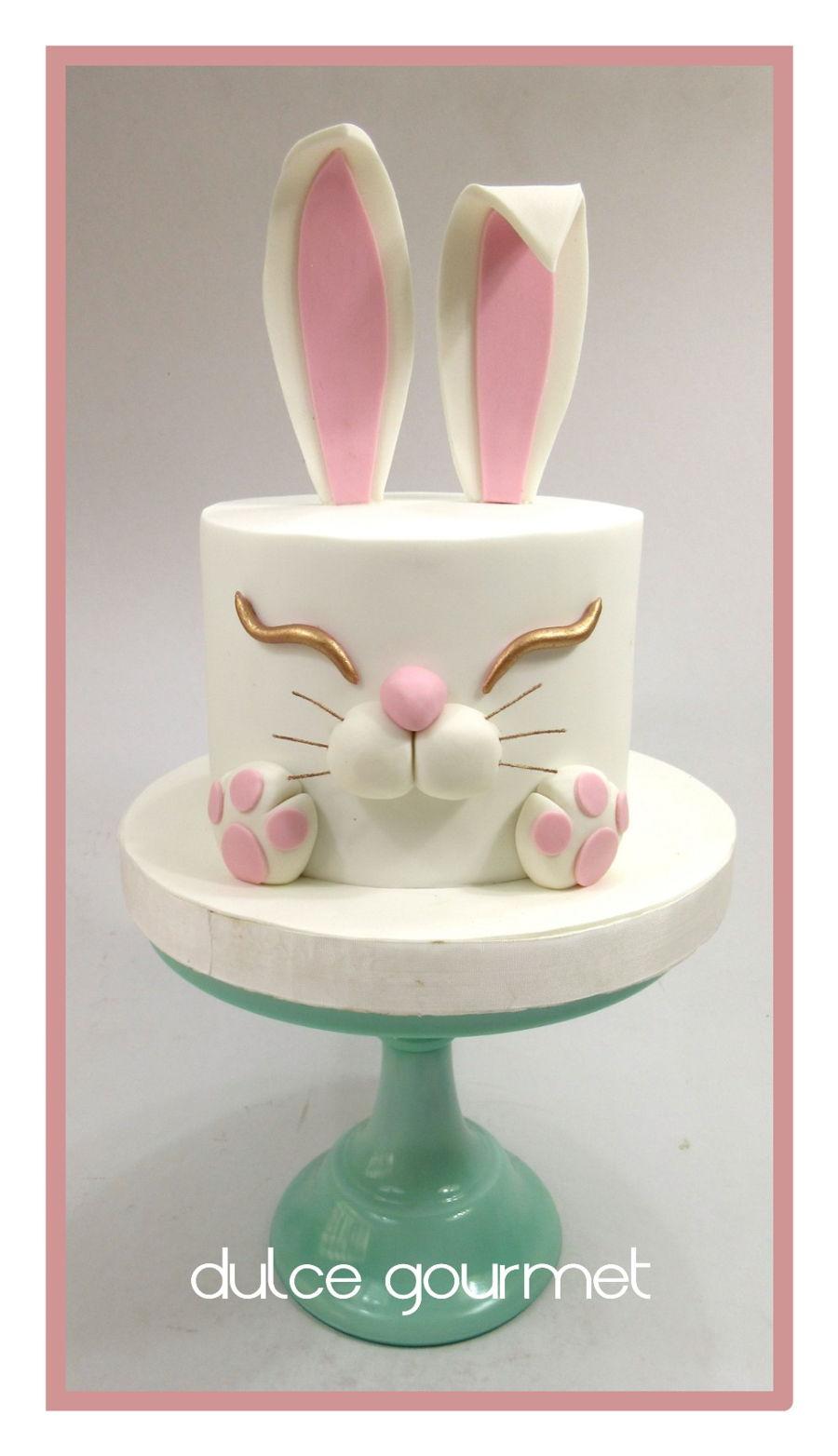 Bunny Easter Cake Cakecentral Com