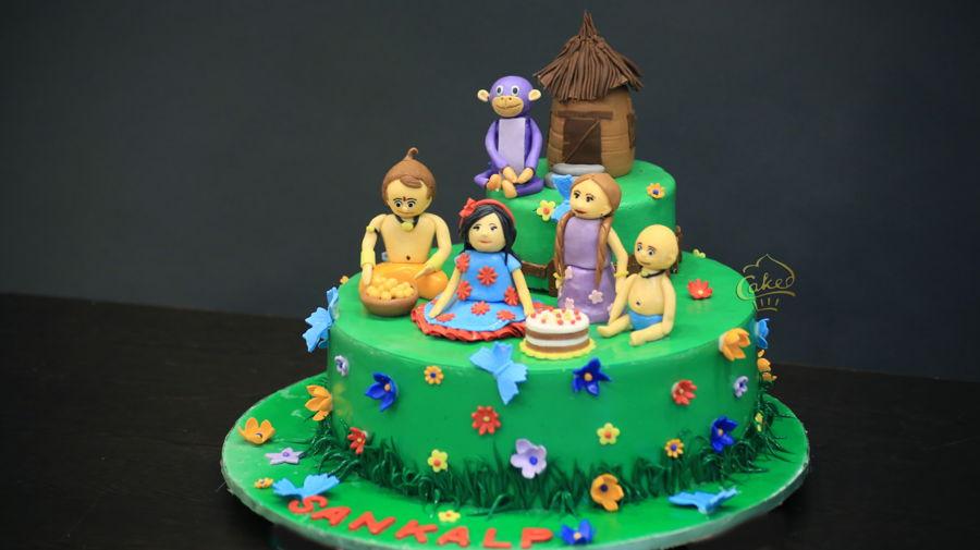 Chota Bheem Cake - CakeCentral.com
