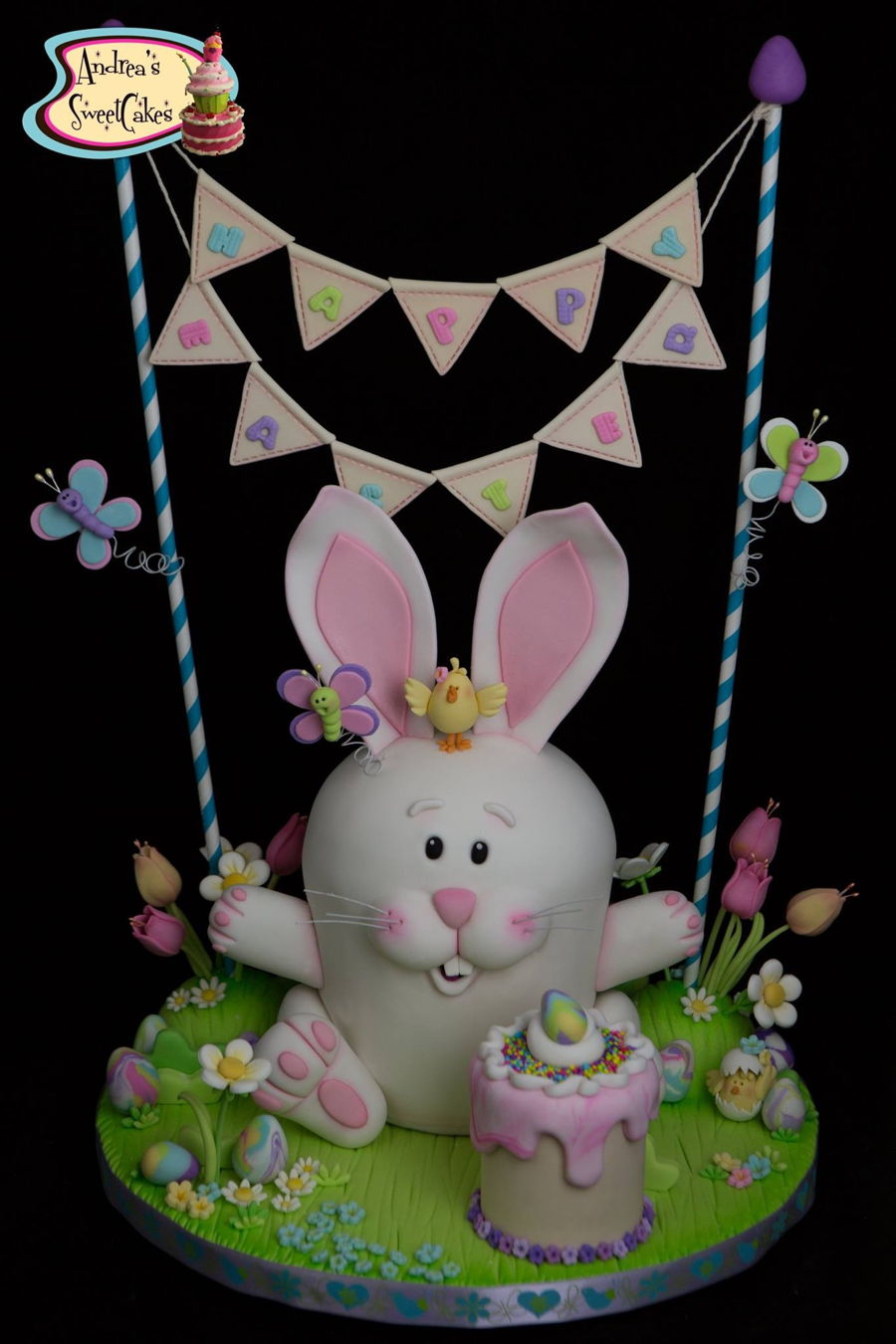 Easter Bunny Cake Tutorial on Cake Central