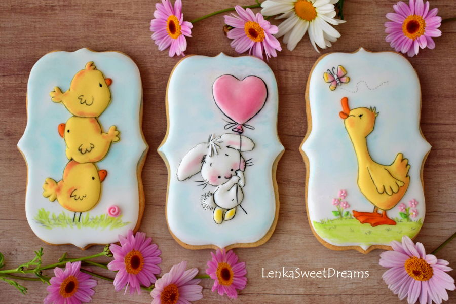 Easter Cookies. on Cake Central