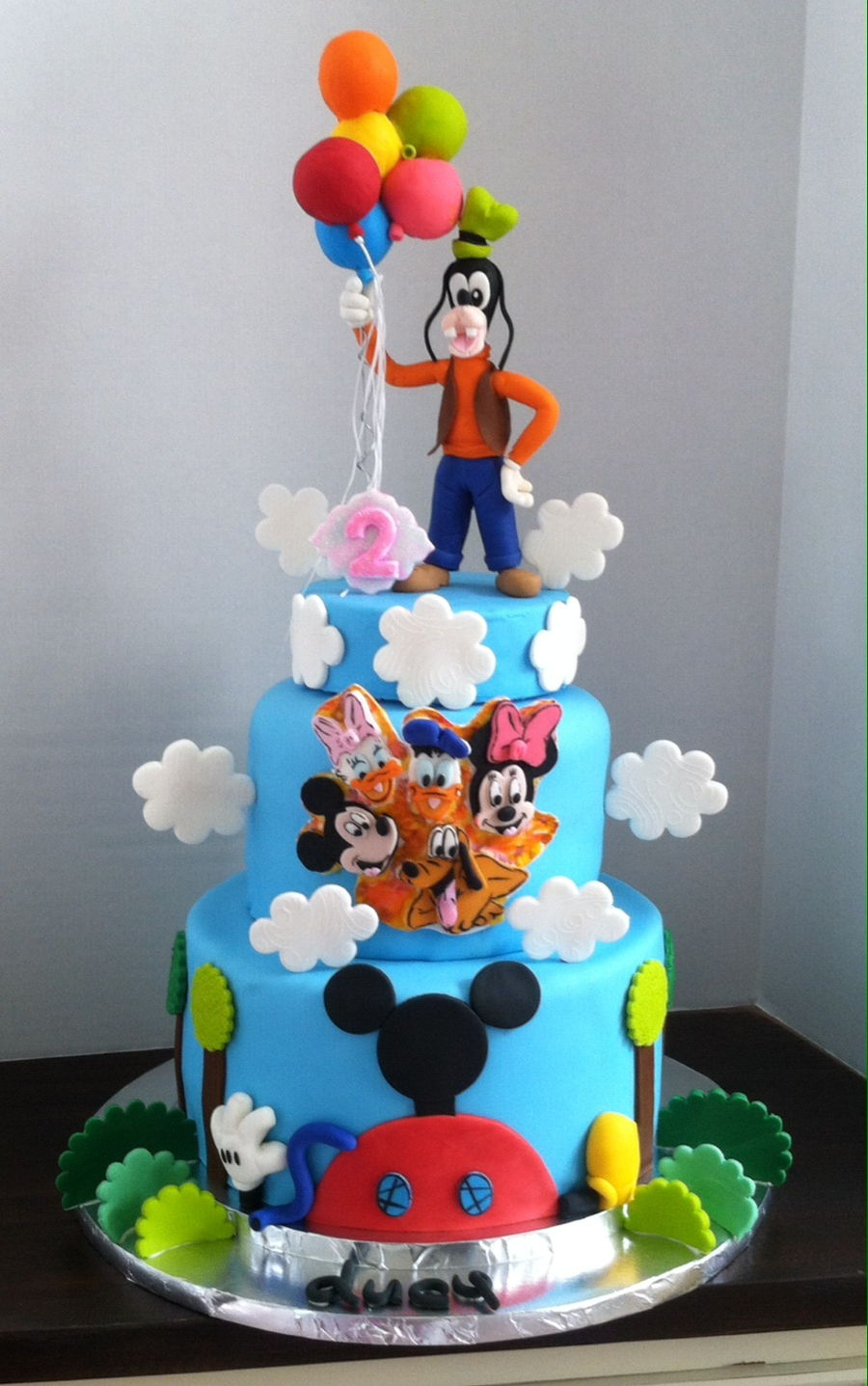 Excellent Goofy Birthday Cake Cakecentral Com Funny Birthday Cards Online Barepcheapnameinfo