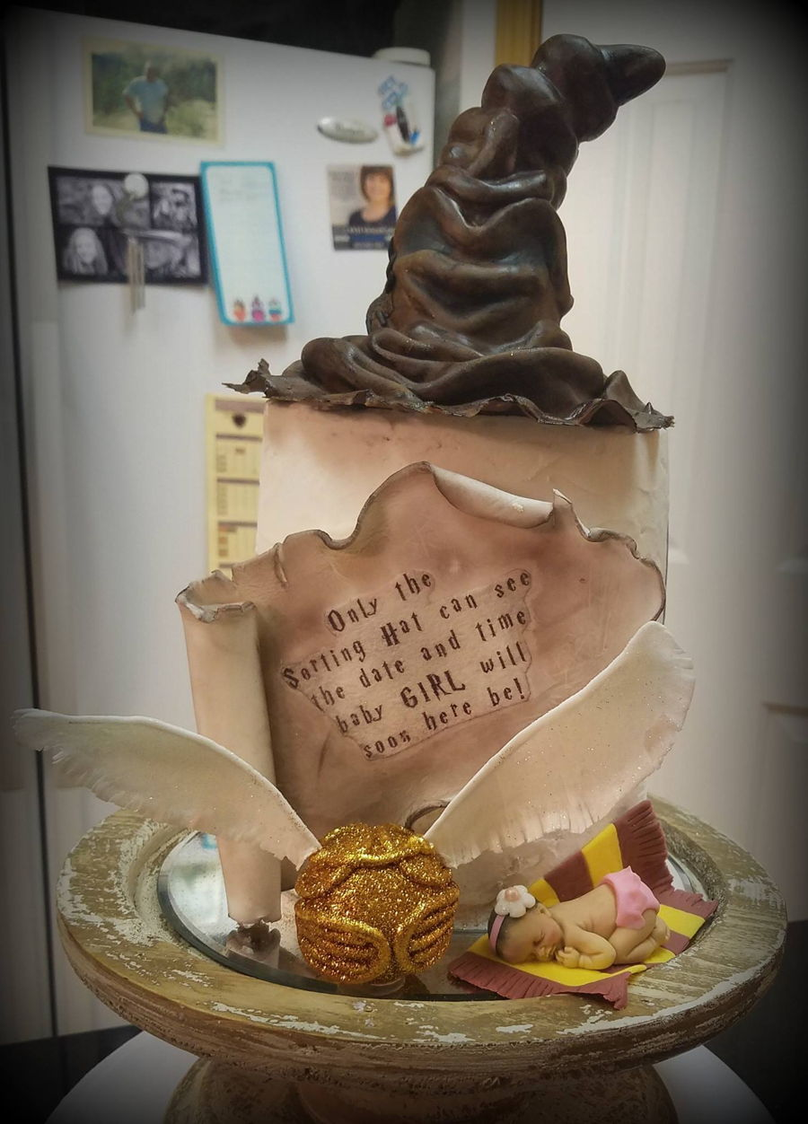 Harry Potter Baby Shower Cake On Cake Central