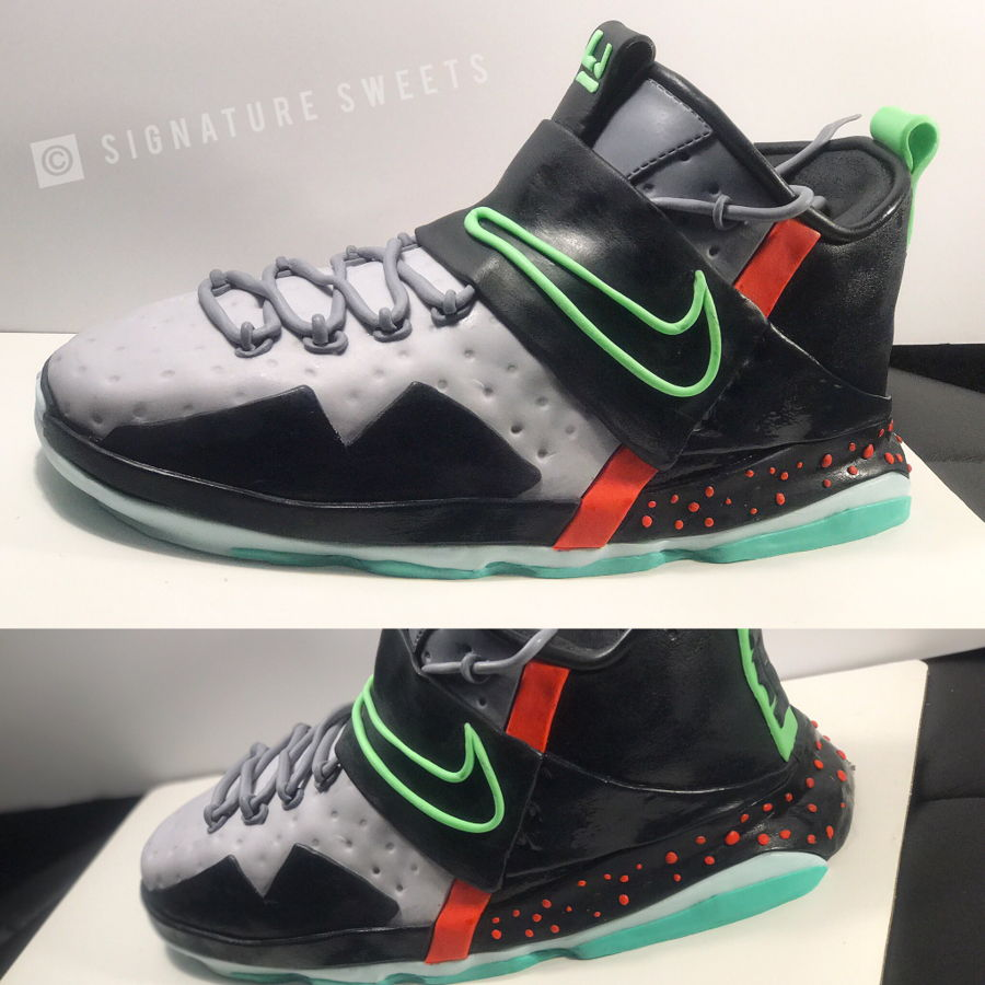 67ba577eccf Lebron james shoe cake bkoko JPG 900x900 Sneaker cake tutorial