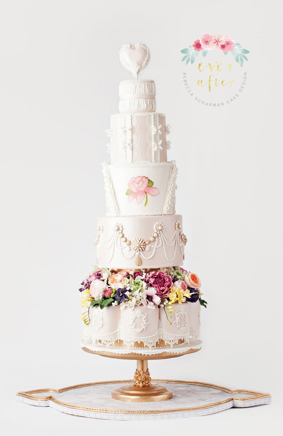 Marie Antoinette Inspired Fashion Cake Cakecentral Com