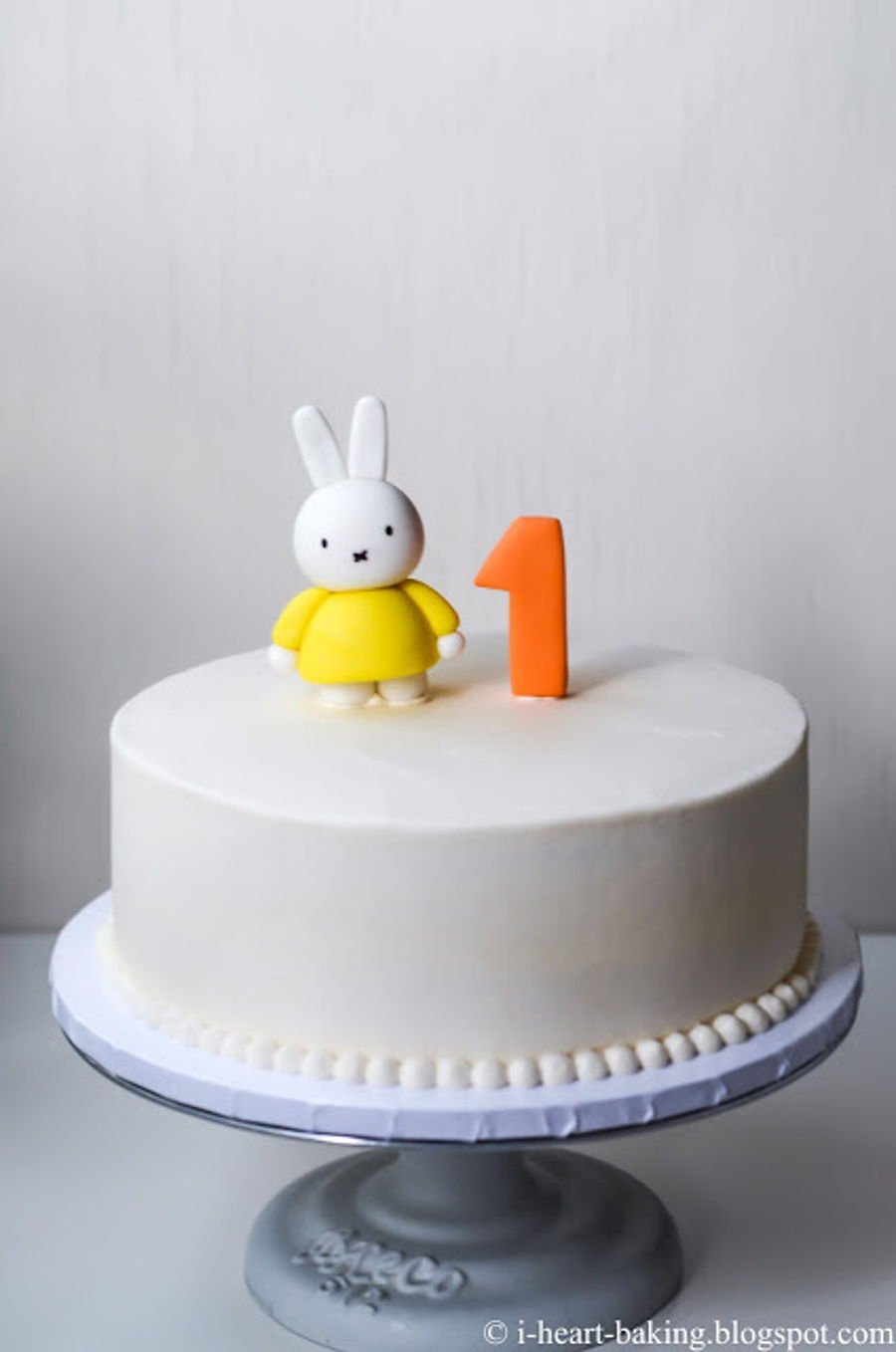 Miffy First Birthday Cake - CakeCentral.com