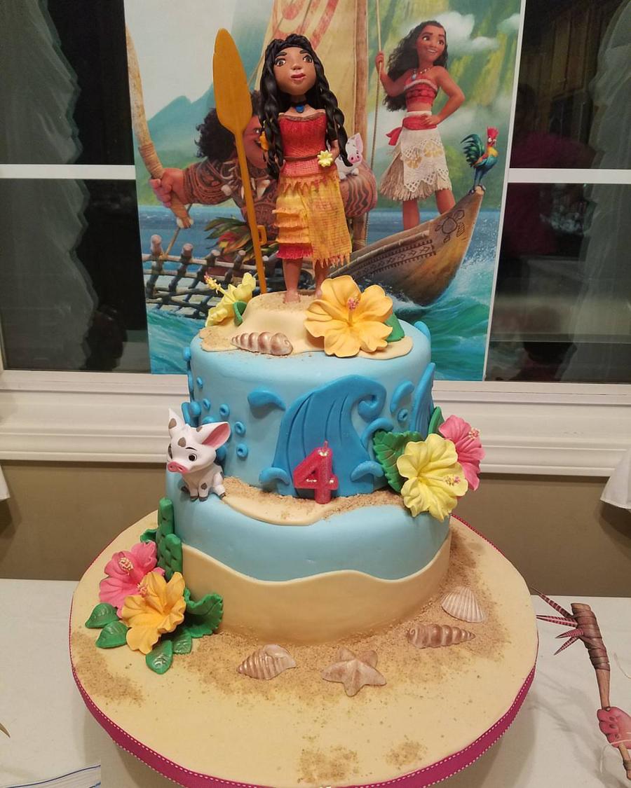 Cake Design Moana : Moana, Sugar Doll - CakeCentral.com