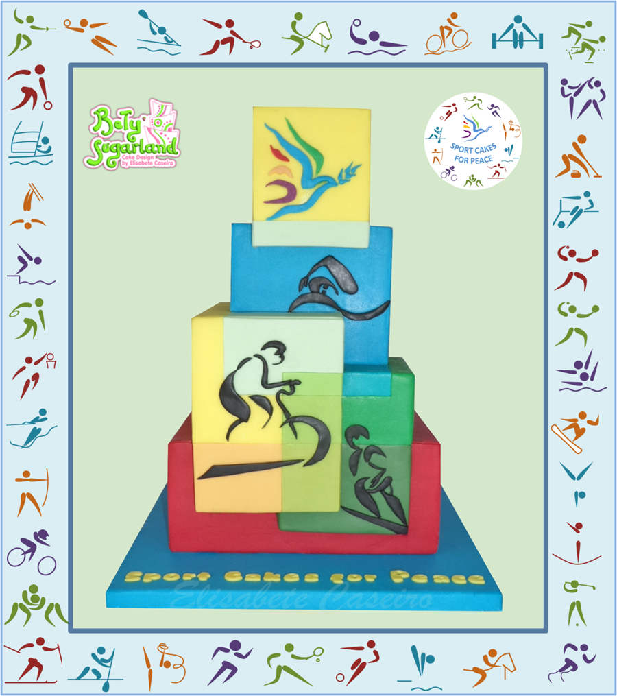 Sports For Peace - Sport Cakes For Peace Collaboration on Cake Central