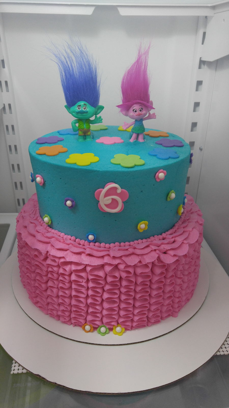 trolls birthday cakecentral com
