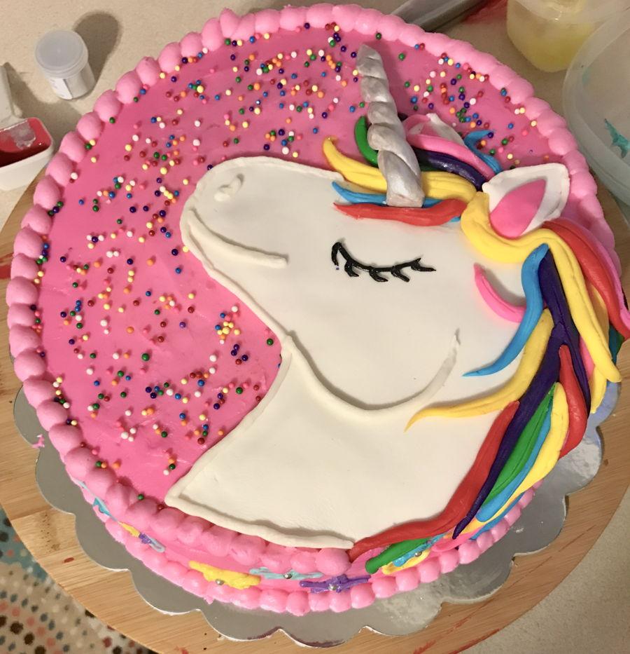 Единорог картинка для торта