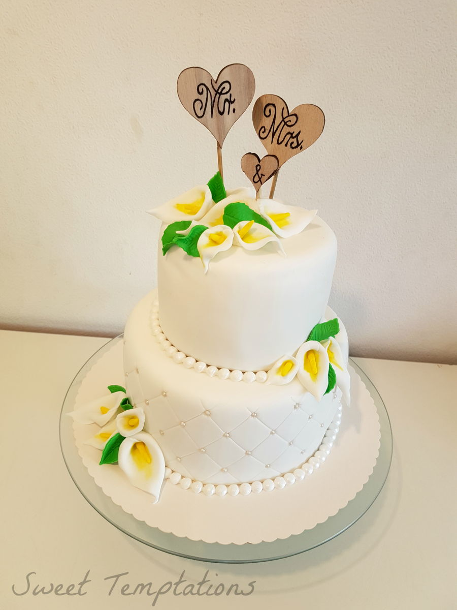 Vegan Wedding Cake - CakeCentral.com