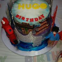 Birthday Cake Big hero six