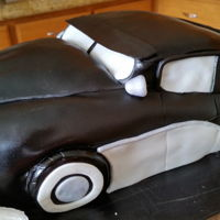 Birthday Cake Old fashion car