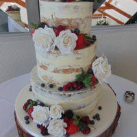 Dirty Iced Wedding Cake Dirty iced wedding cake