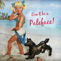 """don't Be A Pale Face"" My contribution to the Sweet Summer collaboration in 2016 is a sugar representation of the famous Coppertone advertisement, ""Don'..."