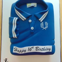 Fred Perry Polo Shirt Cake Fred Perry polo shirt cake