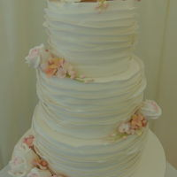Frill Wedding Cake frill wedding cake